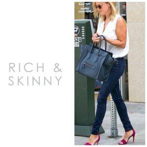 RICH & SKINNY Medium Wash Blue Skinny Jeans
